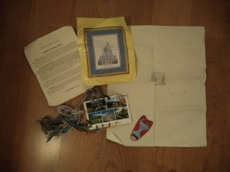 Next big cross-stitch project: Disney Cinderella's Castle