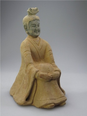 A Chinese Pottery Figure, Northern Wei Dynasty