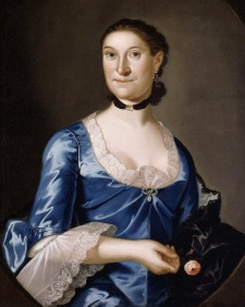 Mrs Richard Brown by John Hesselius, 1760