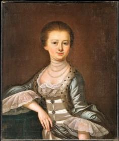Henrietta Dart by Jeremiah Theus 1772