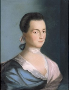 Abigail Smith Adams by Benjamin Blythe, 1766