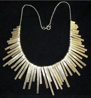 Graham Watling Silver Gilt Sunburst Necklace (3)